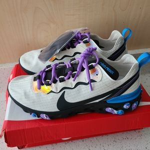 NWT Nike React Element 55 Running Shoes 10